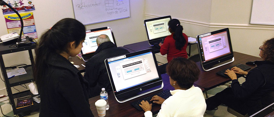 Computer Classes at Centro Hispano